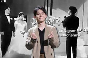 Fan share ầm ầm đoạn clip Chen hát tại đám cưới bạn thân: Bao lâu rồi chưa được nghe giọng main vocal nhà EXO
