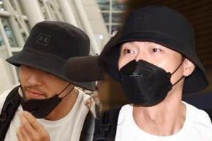 Xuất hiện sau tin đồn hẹn hò Song Hye Kyo, Hyun Bin để lộ râu ria lởm chởm thời 'yêu' Son Ye Jin