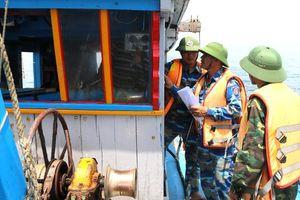Nghệ An: Xử phạt hành chính 5 tàu cá với tổng số tiền 36,5 triệu đồng
