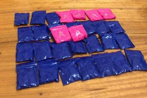 Chạy xe phân khối lớn chở 6.000 viên ma túy về xuôi thì bị bắt giữ