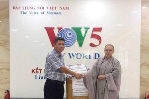Hội Phật tử Việt Nam tại Hàn Quốc ủng hộ 10.000 khẩu trang giúp Hoa Kỳ chống dịch