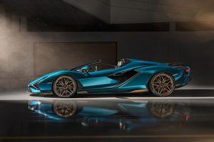 Chiêm ngưỡng Lamborghini Sían Roadster qua video