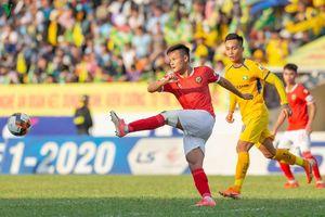 SLNA hòa kịch tính Hà Tĩnh, Hà Nội FC đánh rơi 2 điểm trước Đà Nẵng
