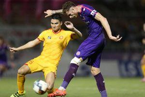 Thắng đậm 3-0 trước Thanh Hóa, Sài Gòn FC đòi lại ngôi đầu bảng