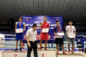 Hà Nội đứng Nhất toàn đoàn Giải vô địch Cup Boxing các câu lạc bộ toàn quốc 2020