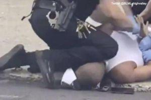 Thêm một người da màu ở Mỹ bị cảnh sát ghì cổ