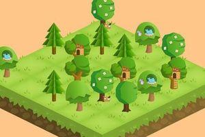 Trò chơi giúp 'cai nghiện' điện thoại, trồng 730.000 cây xanh