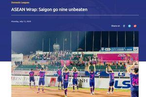 CLB Sài Gòn được AFC đề cao chuỗi 9 trận bất bại