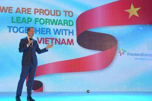 Frieslandcampina Việt Nam đánh dấu 25 năm hoạt động thành công tại Việt Nam với sứ mệnh 'Vì một Việt nam vươn cao vượt trội'