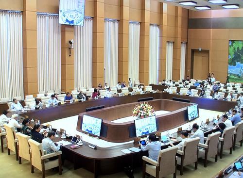 UBTVQH xem xét dự án Luật Thỏa thuận quốc tế