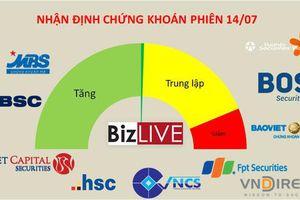 Nhận định chứng khoán 14/7: Cơ hội tăng của VN-Index vẫn còn
