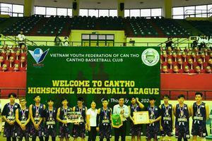 Hơn 180 cầu thủ tham gia Giải Bóng rổ Thanh niên THPT Cần Thơ