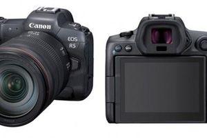 Máy ảnh mạnh mẽ nhất của Canon, quay video 8K, cảm biến 45MP