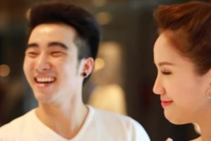 'Tú ông' Lục Triều Vỹ làm người tình của Bảo Thy trong MV ca nhạc