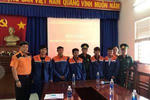 Bà Rịa - Vũng Tàu: Kịp thời cứu hộ 6 thuyền viên bị nạn trên biển