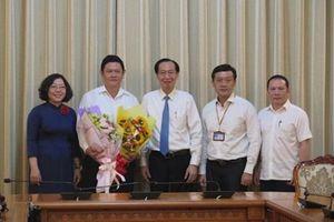 Phó Chủ tịch UBND Quận 1 Lưu Trung Hòa nhận công tác tại SAGRI