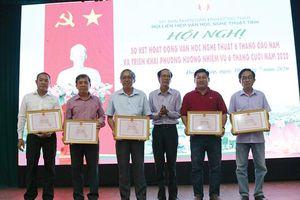Hội Liên hiệp Văn học Nghệ thuật tỉnh sơ kết 6 tháng đầu năm