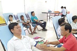 Tấm gương nhiệt tình với công tác hiến máu tình nguyện