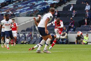 Kết quả Tottenham 2-1 Arsenal: Pháo thủ thêm một lần chết vì hàng thủ