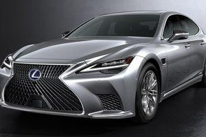 Lexus LS bản nâng cấp 2021 sẽ trang bị hàng loạt công nghệ tự động