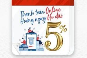 Thanh toán online, nhận ngay ưu đãi của MobiFone