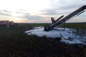 Nga: Tai nạn máy bay làm hai người thương vong