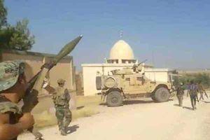 Tướng Syria đe dọa thiêu trụi đoàn xe tuần tra Mỹ