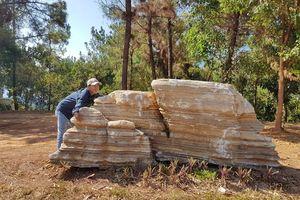 Trả 60 tấn đá về chỗ cũ