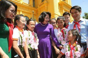 Phó Chủ tịch nước: Cháu ngoan Bác Hồ phải dám ước mơ, sáng tạo