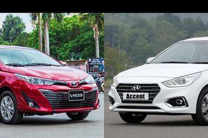 Mẫu sedan bán chạy nhất VN giá chỉ từ 400 triệu đồng