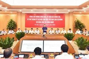 Phấn đấu năm 2025, đầu tư cho khoa học và công nghệ chiếm 70% tổng đầu tư của Hà Nội