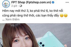 FPT Shop là thương hiệu thu hút nhất trên mạng xã hội