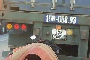 Tông vào đuôi xe container đang đỗ bên đường, nam thanh niên tử vong tại chỗ