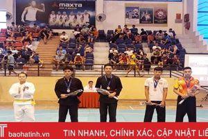 Hà Tĩnh giành 8 huy chương tại Giải vô địch Pencak Silat trẻ toàn quốc