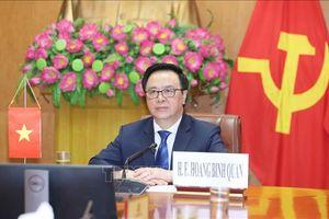 Hội nghị bàn tròn chính đảng quốc tế về 'Hợp tác an ninh trong giai đoạn đại dịch COVID-19'