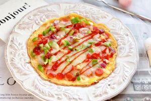 Nhanh tay làm ngay pizza siêu tốc chỉ vài phút là xong để ăn sáng