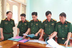 Kiểm tra công tác huấn luyện, SSCĐ pháo binh tại Bộ CHQS tỉnh