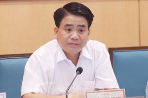 Chủ tịch Hà Nội Nguyễn Đức Chung: 9 Sở sẽ chung bộ phận 'một cửa'