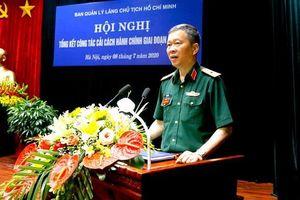 Giao quyền Trưởng ban BQL Lăng Chủ tịch Hồ Chí Minh cho Thiếu tướng Bùi Hải Sơn