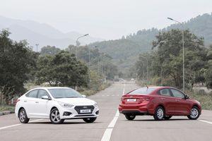 Toyota Vios và Hyundai Accent hụt hơi, ngôi vua sedan hạng B đổi chủ