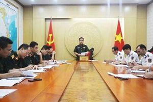 Kiểm tra công tác thi hành pháp luật về xử lý vi phạm hành chính của Bộ tư lệnh Cảnh sát biển
