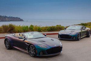 'Soi' màu sơn độc bộ đôi siêu xe Aston Martin DBS Superleggera