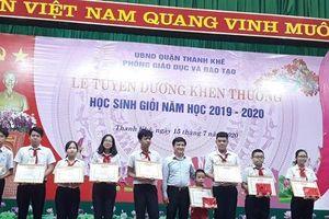 Quận Thanh Khê (TP Đà Nẵng): Tuyên dương, khen thưởng HS giỏi