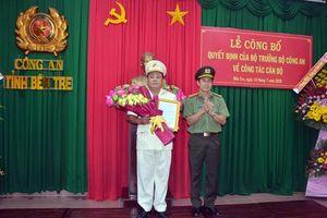 Thượng tá Võ Công Bình giữ chức Phó Giám đốc Công an tỉnh Bến Tre
