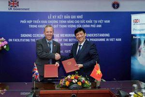 Anh hỗ trợ Việt Nam cải thiện hệ thống y tế, tăng trưởng kinh tế toàn diện