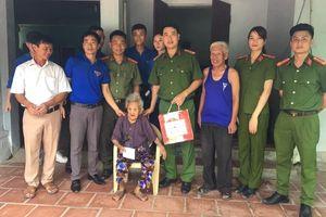 Đoàn Thanh niên Công an huyện Quảng Xương lan tỏa phong trào 'Đền ơn đáp nghĩa'