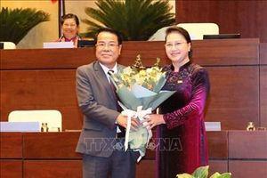 Ông Dương Thanh Bình được bầu giữ chức Ủy viên UBTVQH