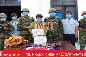 Hà Tĩnh: 3 ngày phá 3 chuyên án ma túy 'khủng'