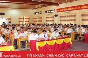 Hội đồng nhân dân huyện Lộc Hà xem xét, quyết định nhiều vấn đề quan trọng