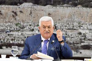 Tổng thống Palestine nêu điều kiện nối lại hòa đàm với Israel